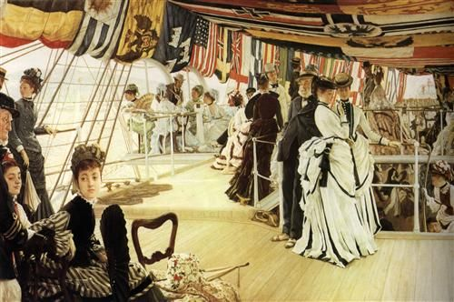 Ball on Shipboard - James Tissot