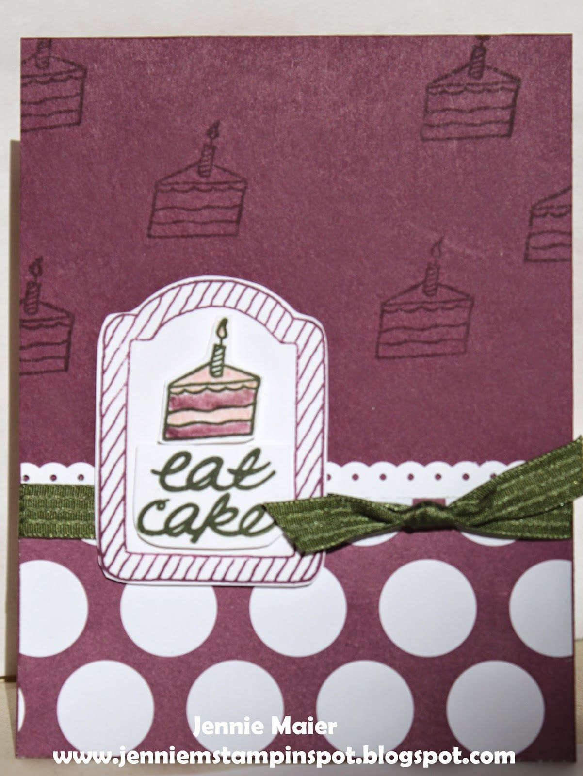 Jennie mus stampin spot cards pinterest snail mail snail and