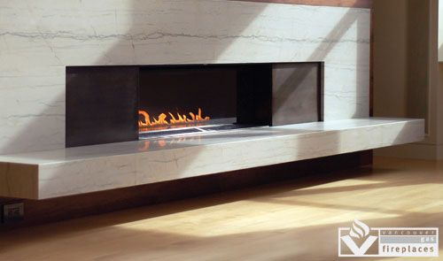 Direct Vent 87 & 88 by Spark Fire from Vancouver Gas Fireplaces ...
