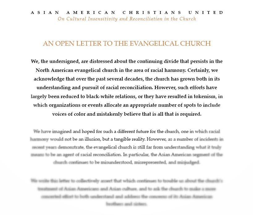 How To Open A Cover Letter New An Open Letter From The Asian American Community To The Design Inspiration