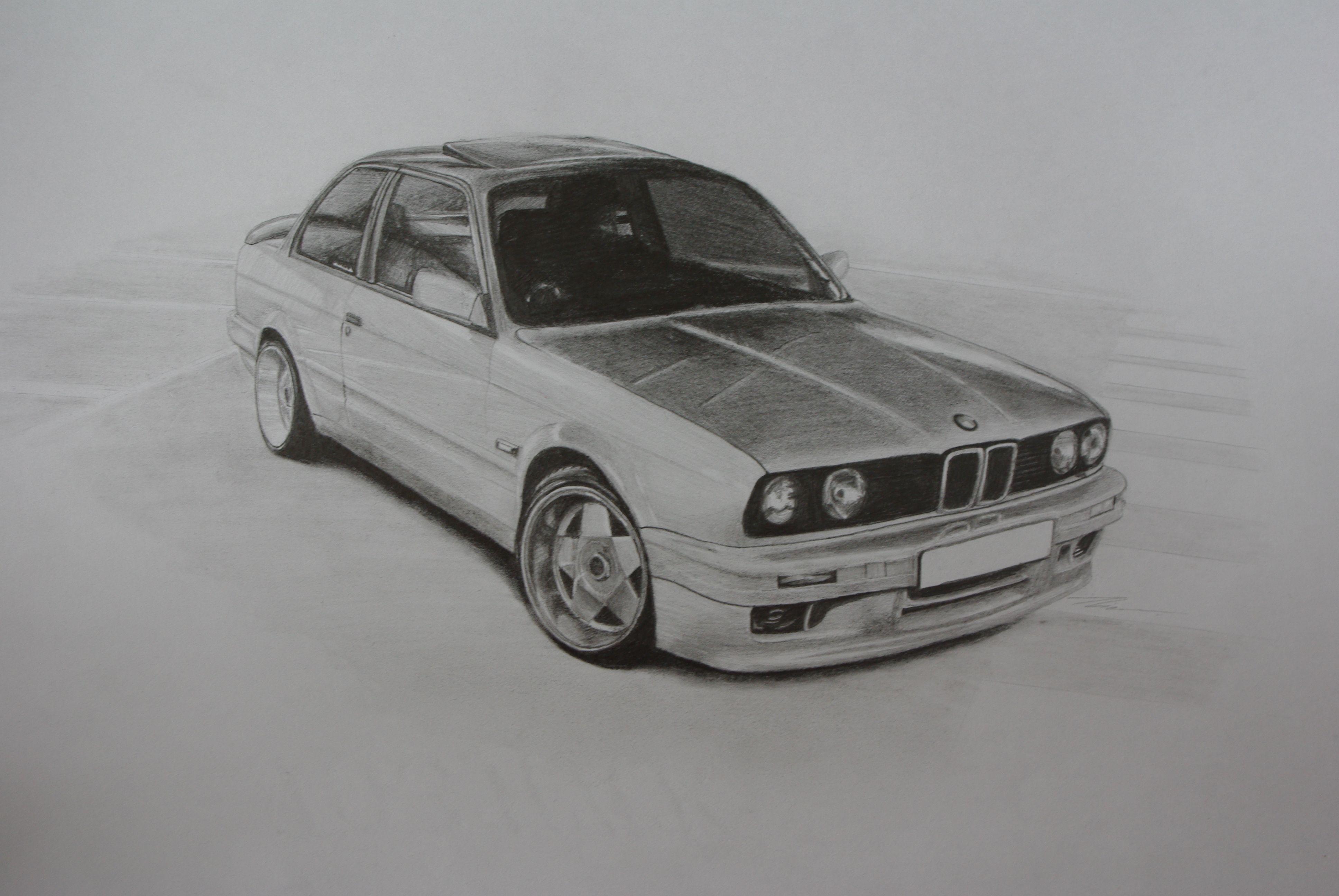 Bmw E30 Desenhos De Carros Carros Desenhos