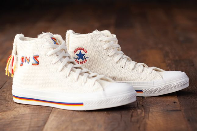 Super Swedish Lovikka Converses  CONVERSE - Collab - Chuck Taylor - Sneakersnstuff 'Lovikka'