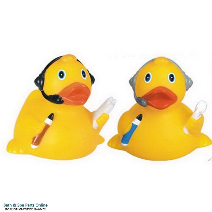 Rubber Duck Toy: Headset Duck
