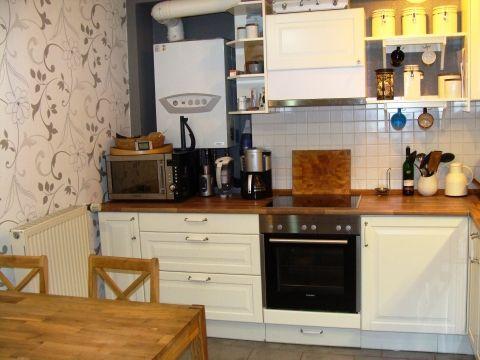 Wohnküche im Altbau ...