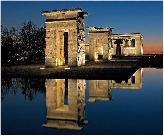 Madrid: Templo de Debod en Madrid Guarda le Offerte.
