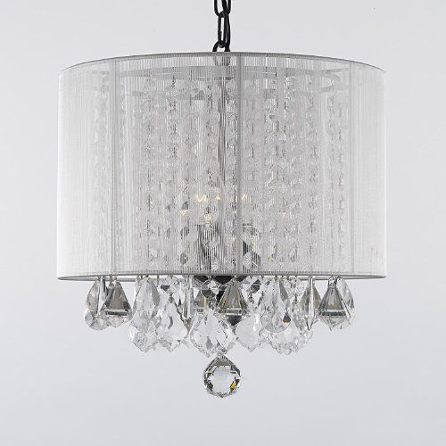Awesome Chandelier with White Shade