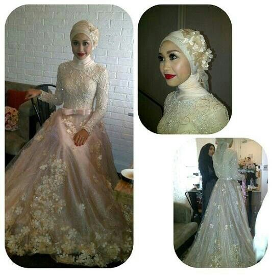 Hijab Wedding Dress By Ivan Gunawan Collection (Indonesian