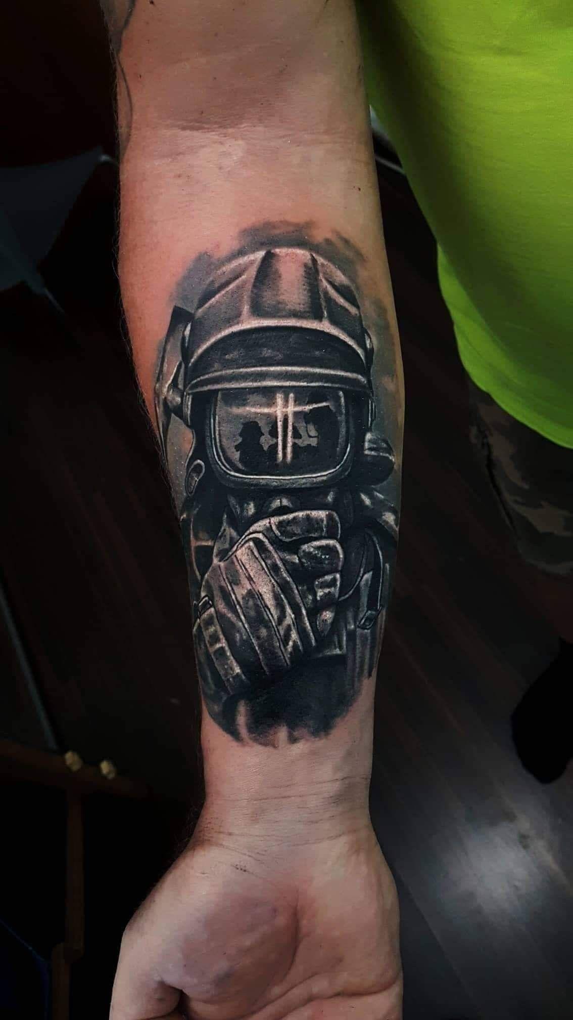50 Firefighter Tattoos For Men Masculine Fireman Ideas 1