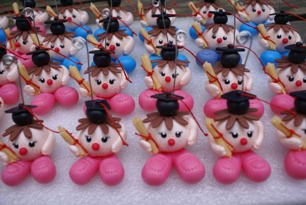 Peque os egresados para jard n de infantes en porcelana for Jardin de infantes