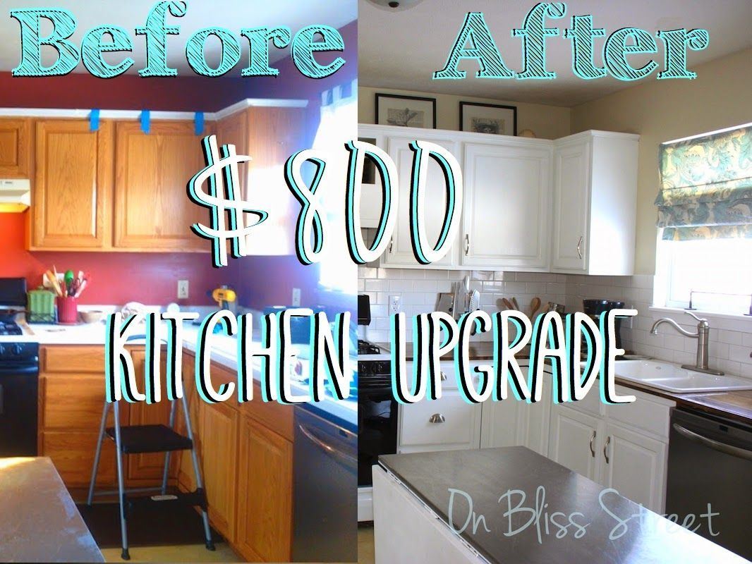 On Bliss Street: Upgraded Kitchen- So You Say You Want a New Kitchen ...