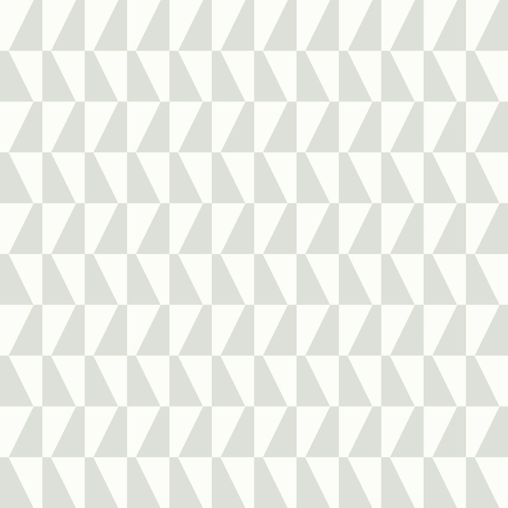 Trapez Light Green Geometric Wallpaper