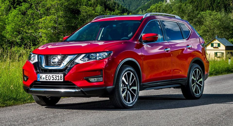 Updated 2017 Nissan XTrail Ready To Hit Europe [30 Pics]
