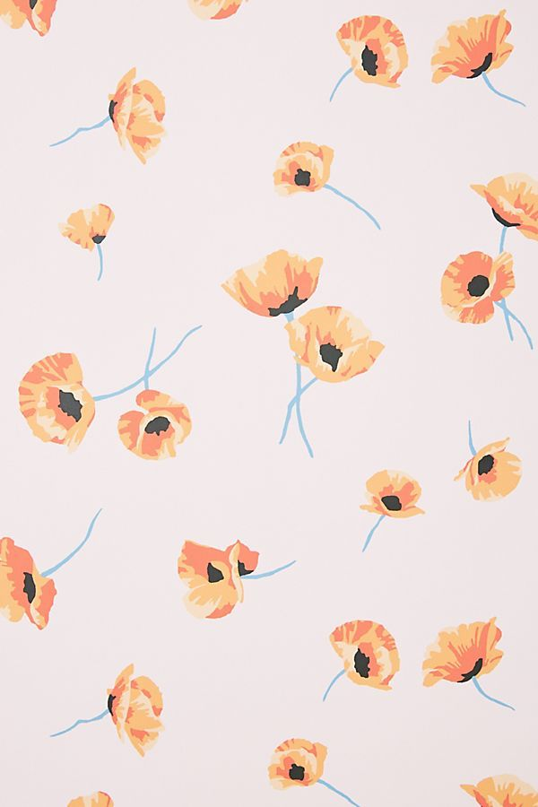 Poppy Wallpaper Poppy Wallpaper Fall Wallpaper Iphone Background Wallpaper