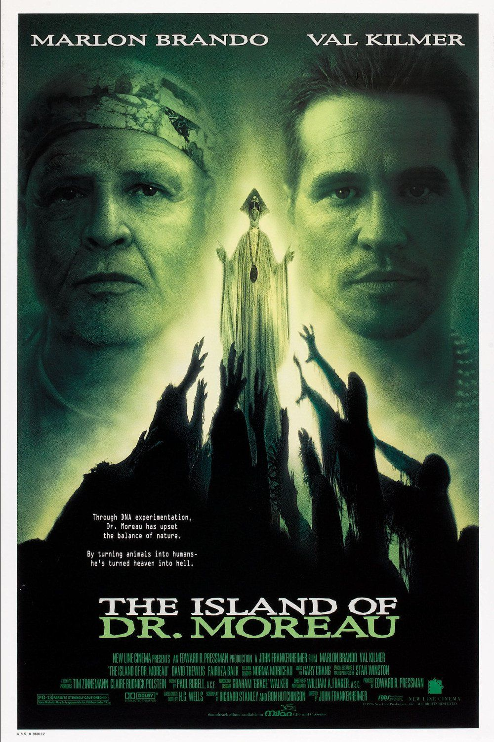 The Island of Dr. Moreau (1996) Movie Review Thriller