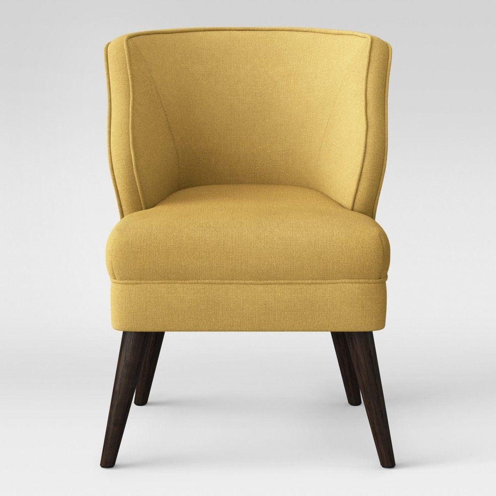 Mandolene Mid Century Arm Chair Gold - Project 62 , Yellow ...