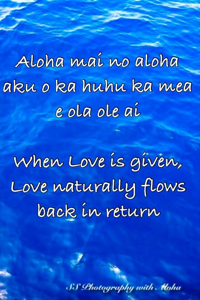 Pin by Tanti Baci . on Wisdom IV ~ in 2019 | Hawaiian quotes ...