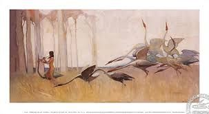sydneylong painting of the spirit of the plains - Google Search