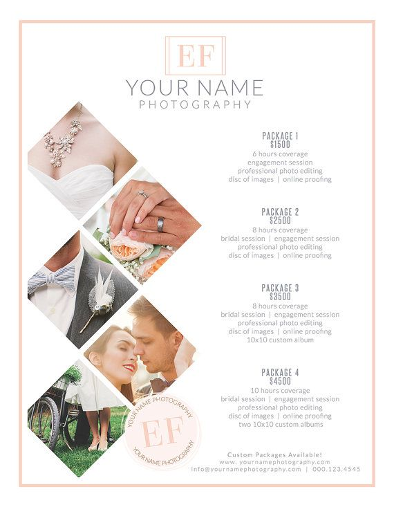 Sale Wedding Photography Branding Pricing Guides Kit Canva Etsy Wedding Photography Branding Wedding Photography Pricing Photography Pricing