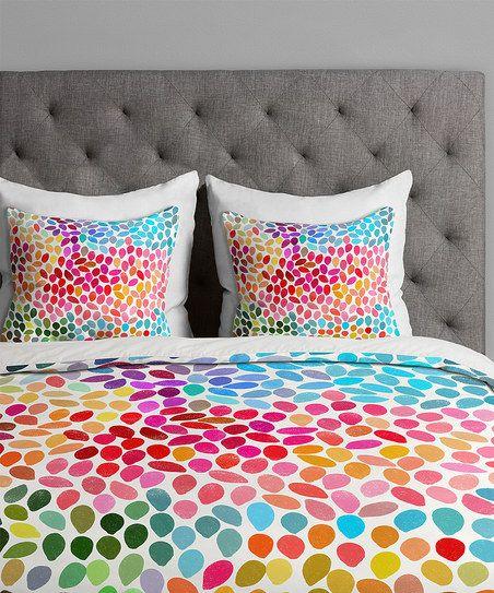 Rainbow Teardrop Duvet Cover Rainbow Bedroom Duvet
