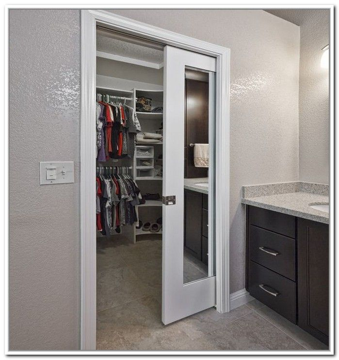 Breathtaking closet door space saver roselawnlutheran - Closet doors for small spaces pict ...