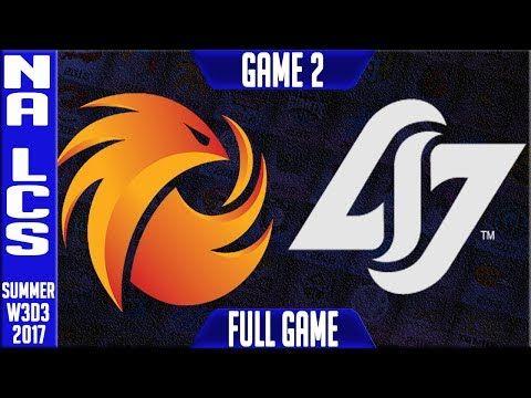 Phoenix1 vs CLG Game 2 | NA LCS Week 3 Day 3 Summer Splut 2017 | P1 vs CLG G2