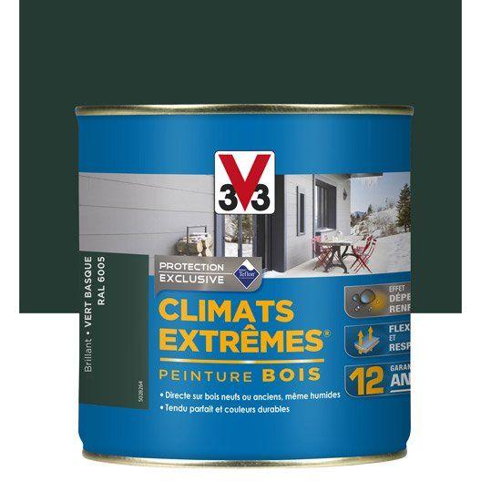 peinture_bois_exterieur__vert_basque__0_5_l_v33 MAISON Pinterest - lasure pour bois exterieur