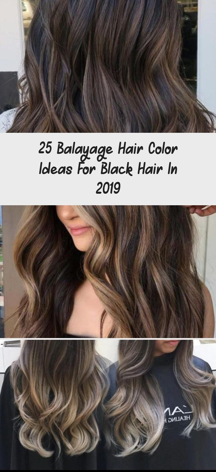 9 Balayage Hair Color Ideas for Black Hair in 9, Balayage is a ...