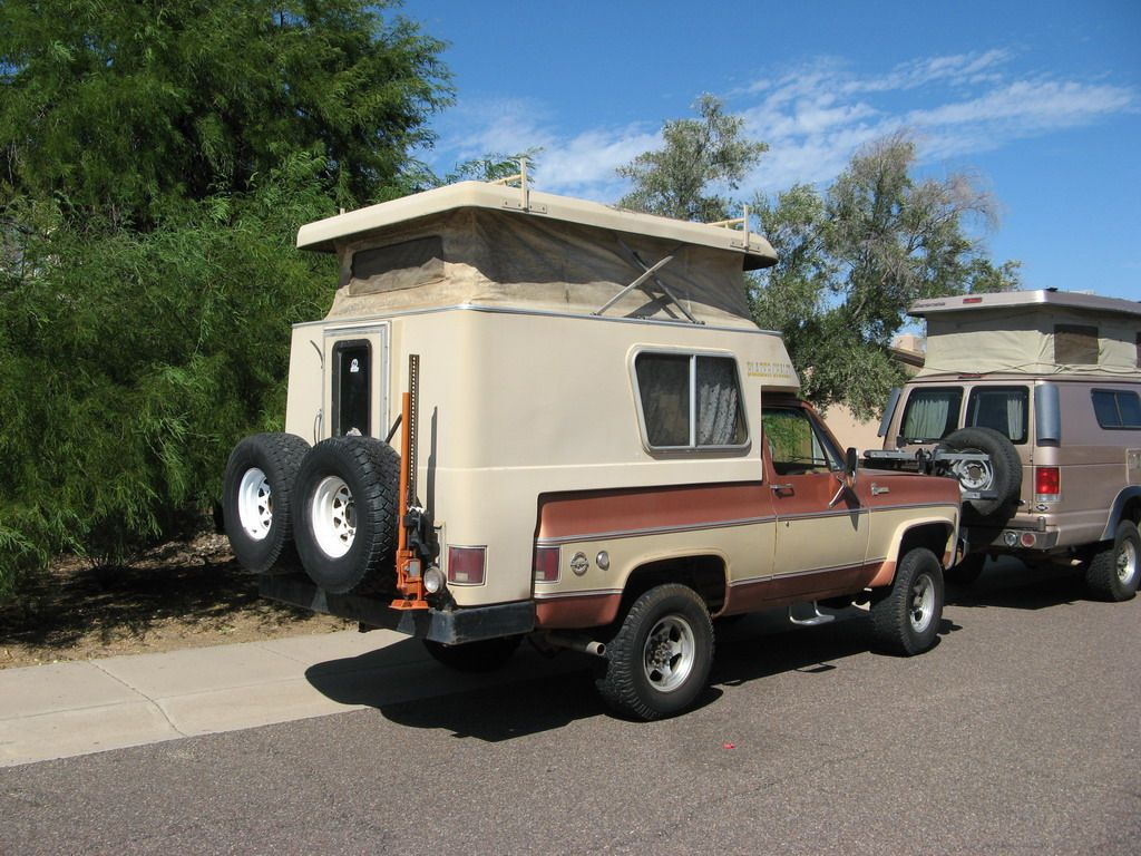 Expedition Ready 1977 4 4 Blazer Chalet Camper For Sale Campers