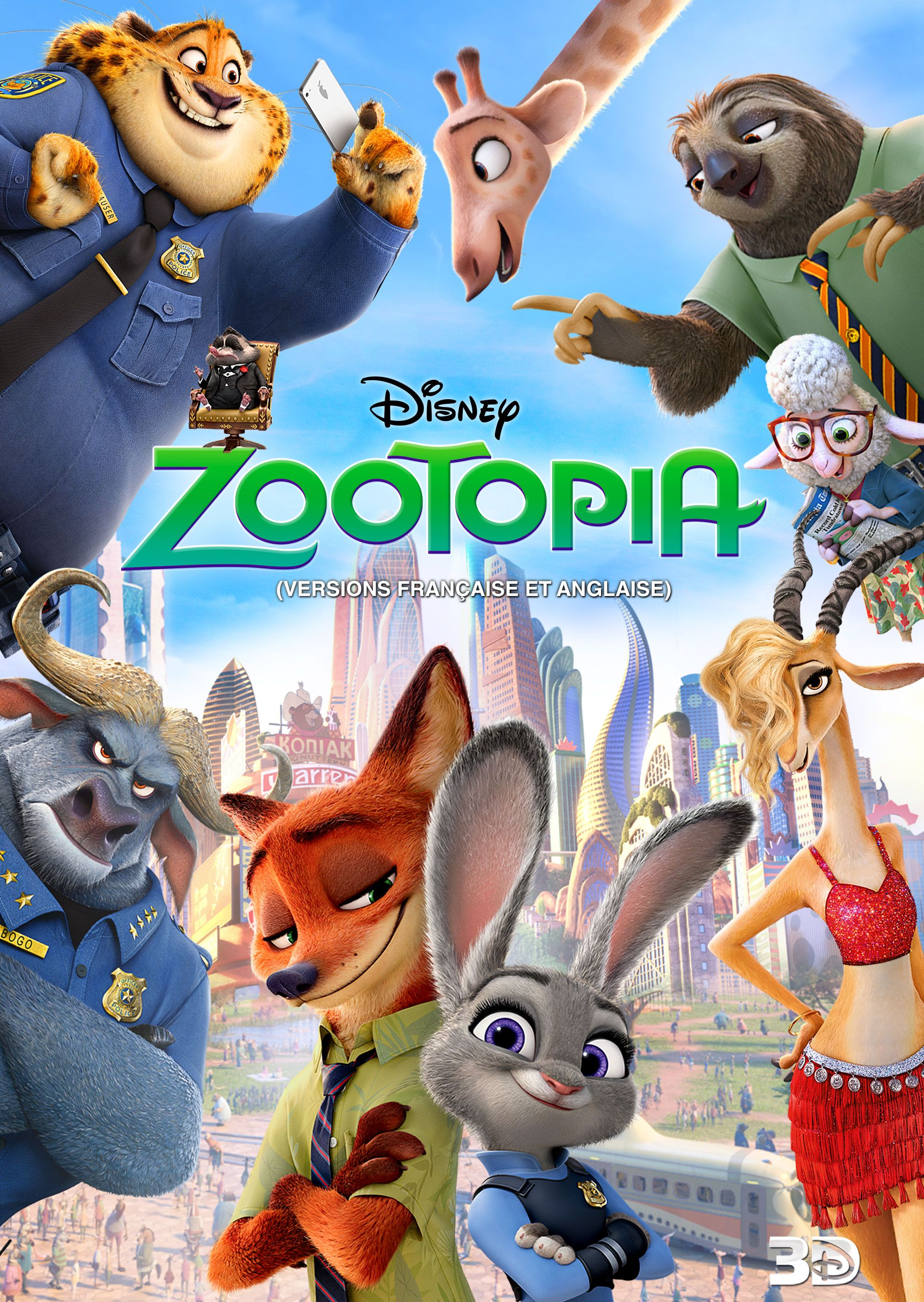 Zootopia Disney Movie Animated