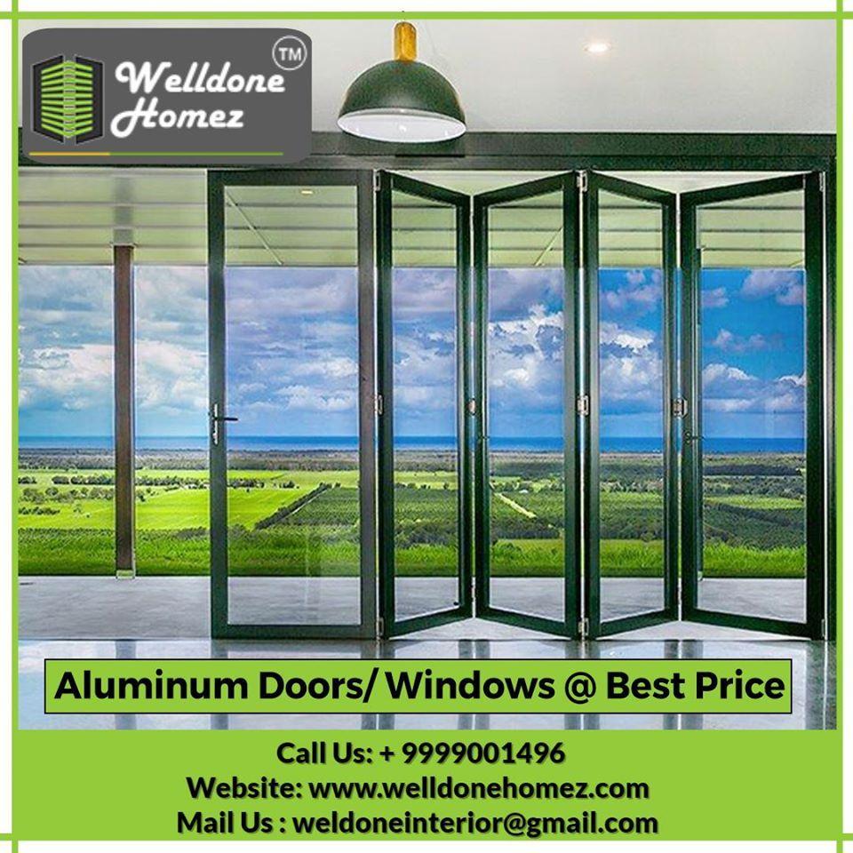 Providing Aluminium Doors Windows In Various Specifications By