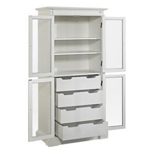 Americana China Pantry in White | Nebraska Furniture Mart
