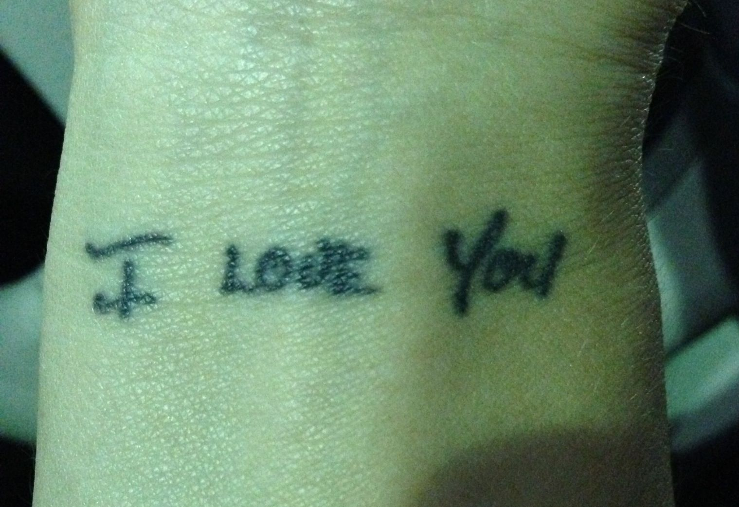 Get I Love You Tattooed With Your Significant Others