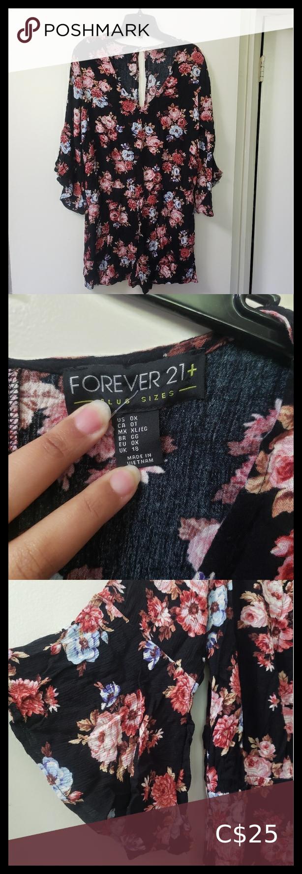 Floral romper!!! Floral romper!!! BNWT floral romper. Outfit: resort, beach, girls night !!! Forever 21