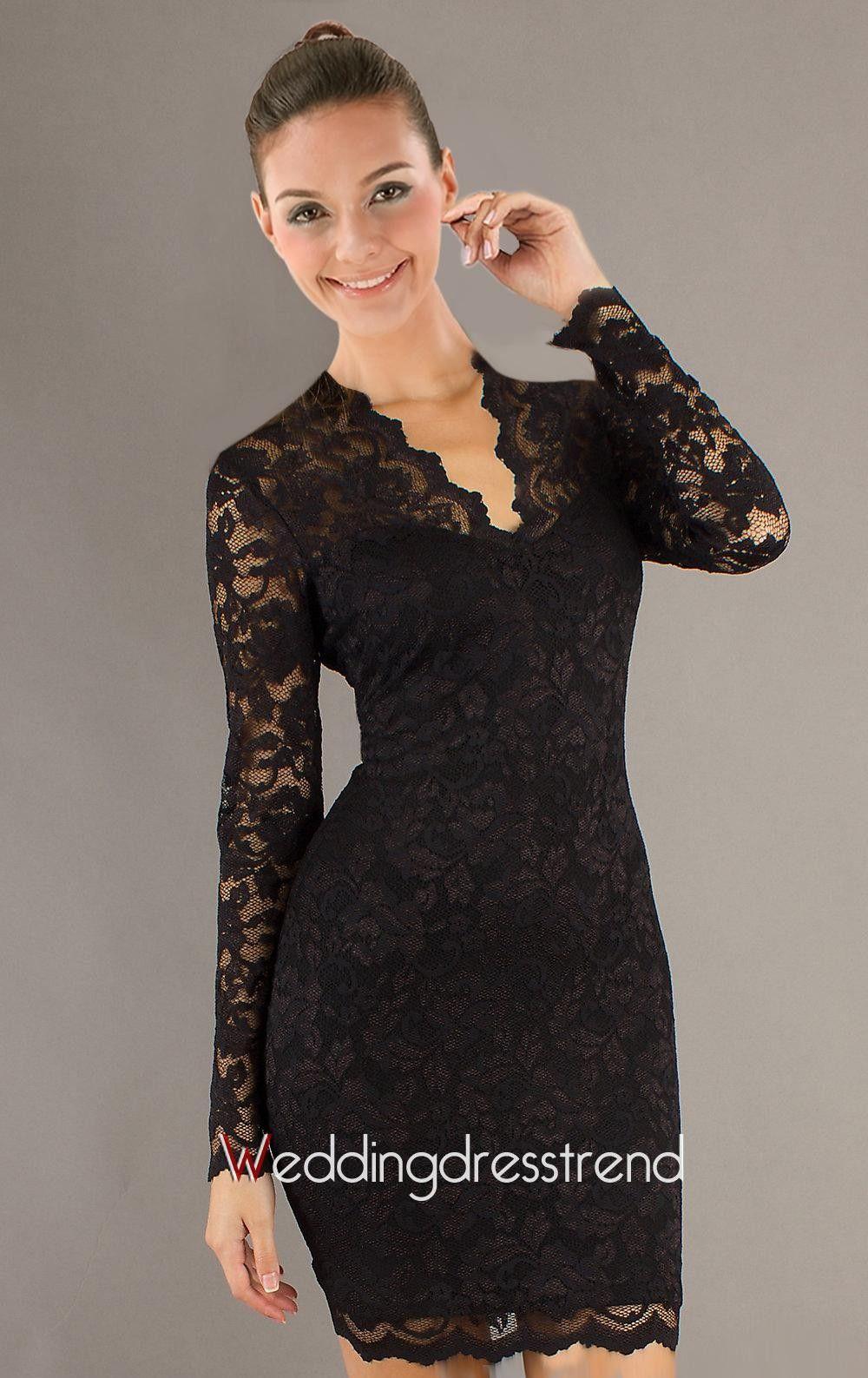 After lace dresses long sleeves color dress pinterest