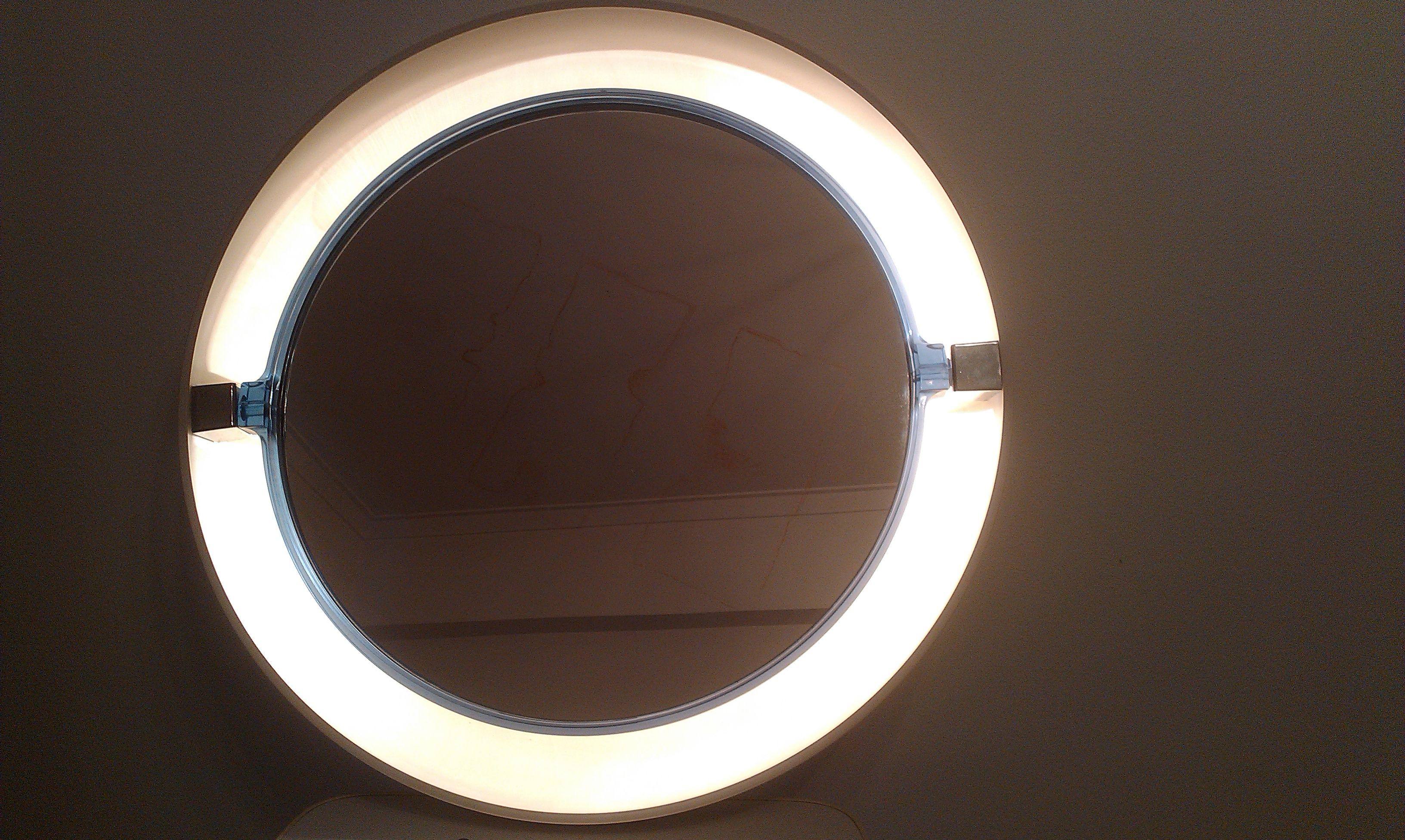 Espelho candeeiro space age ANOS 70