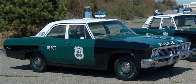 Image result for nypd 1966 chevy biscayne