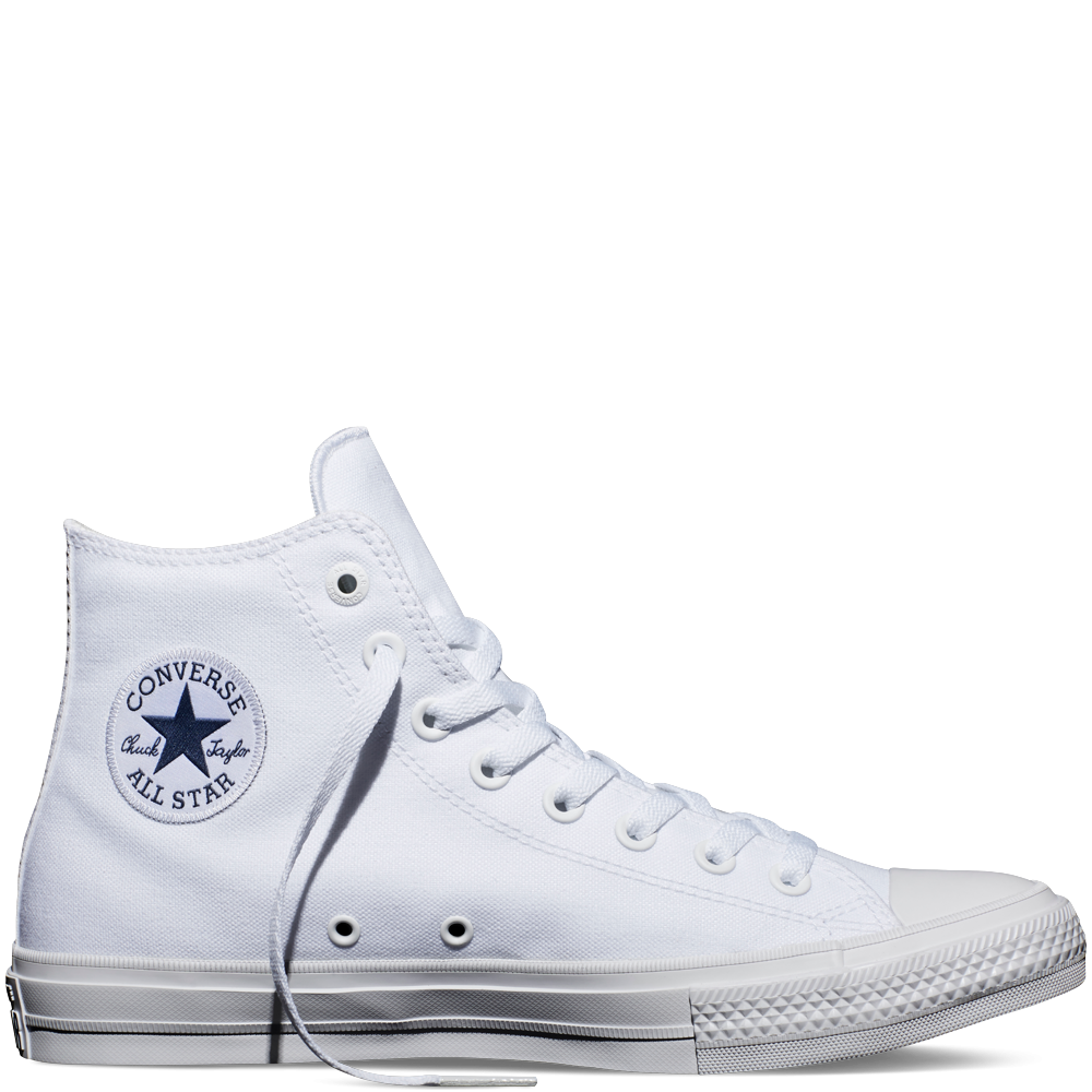 Chuck Taylor All Star II White White Navy  5c6e5be96e49