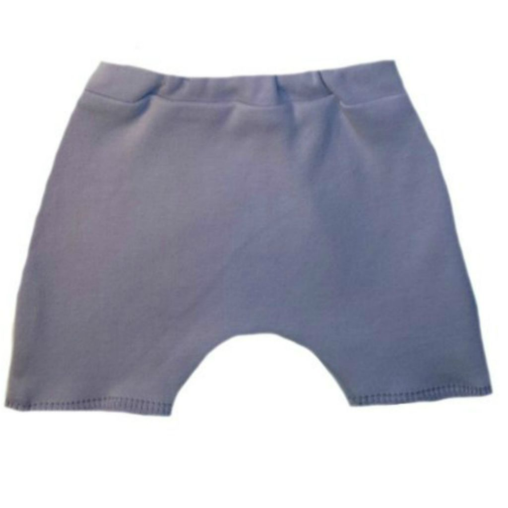 Small Newborn Lots of Colors White Jacquis Unisex Baby Cotton Knit Shorts