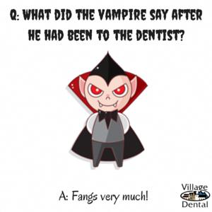 Another great Halloween joke. vampirefangs