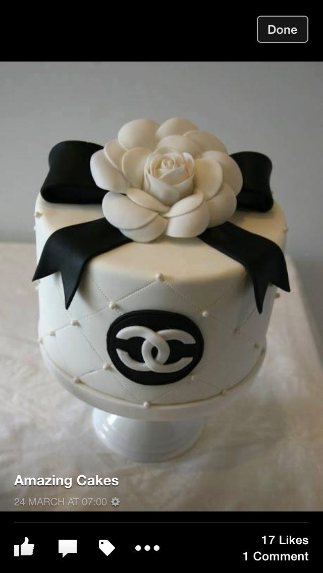 Pin By Rachael Stoddard On Women S Cake Ideas Chanel Cake Fashion Cakes Cake Design