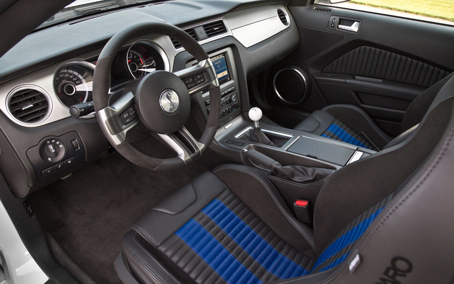 Inside Of Ford Mustang Shelby Gt500 With Images Mustang Shelby