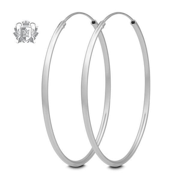 Clic Hoop Earrings Lookbook Fashion Sterlingsilver Silver925 Gemstones Jewelry