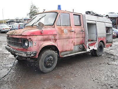 1978 Ford A Series / Transit Based Fire Engine Restoration Project Garage Find  - http://classiccarsunder1000.com/archives/17956