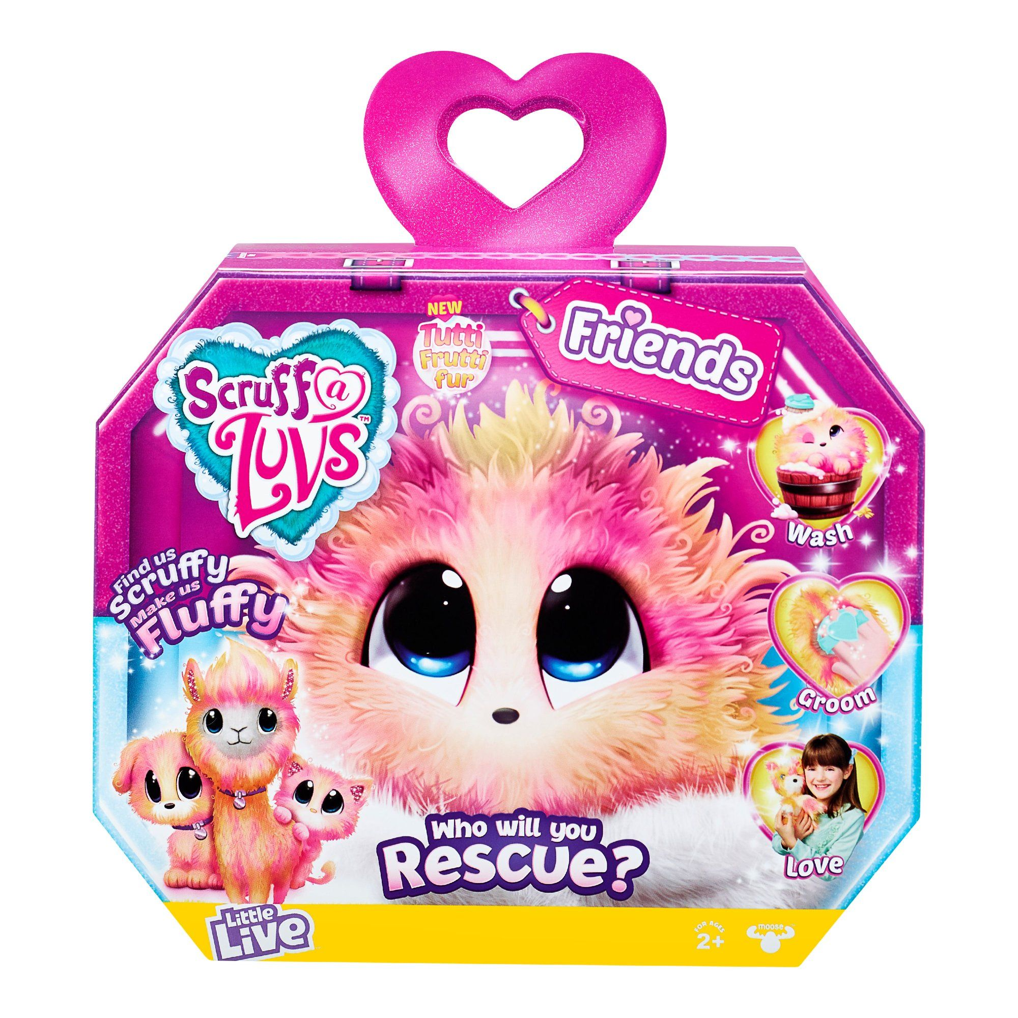 Little Live Pets Scruff A Luvs Plush Mystery Rescue Pet Tutti Fruitti Walmart Com In 2020 Little Live Pets Toys For Girls Rabbit Toys