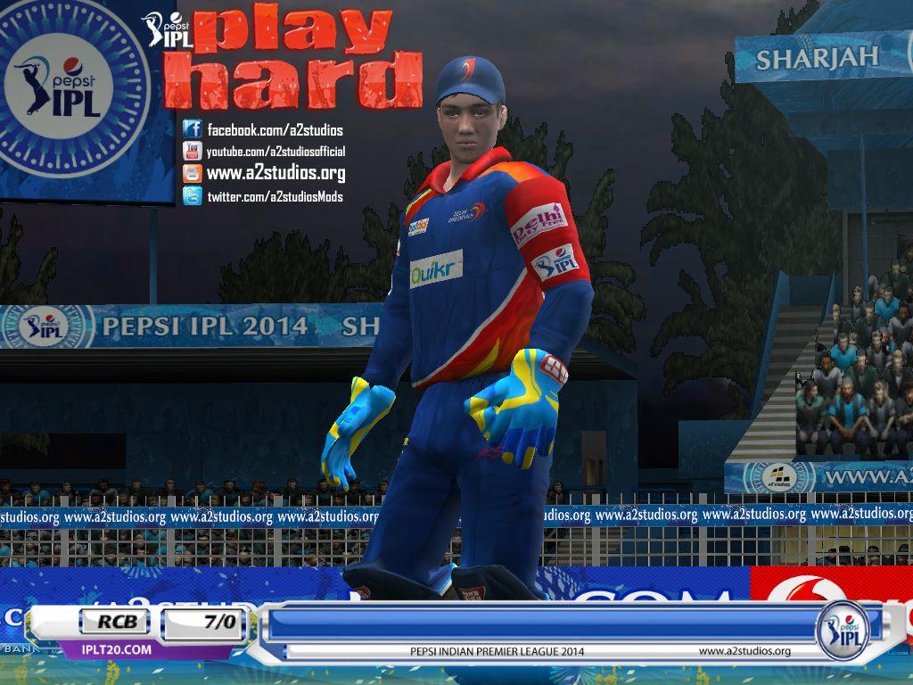 Pepsi Ipl 7 Patch For Ea Sports Cricket 07 Download Now Http A2studios Org A2 Studios Pepsi Ipl 7 Play Hard Patch 2014 Cricket With Images Cricket Sport Sports Ea Sports