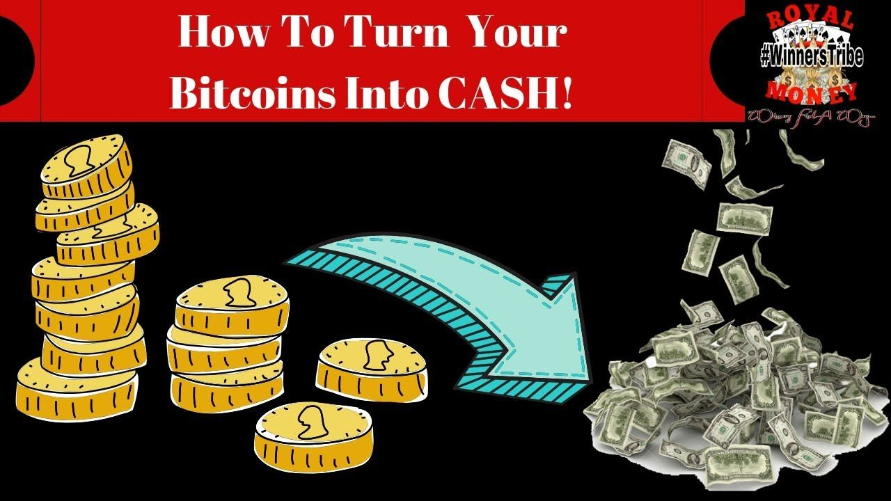 how to turn money into bitcoins