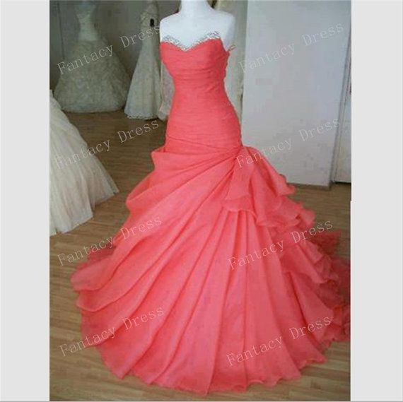 Custom Made Sweetheart Floor Length Ball Gown Prom Dresses,Evening Dresses,Long Prom Dresses,Long Wedding Dresses, Formal Dresses on Etsy, $182.99