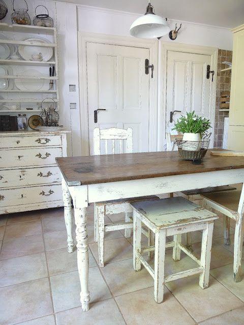 Pin von Louise Carter auf KITCHEN Pinterest Küche, Tisch und - esszimmer landhaus flair