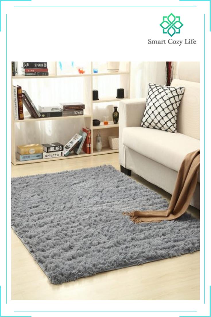 Super Soft Living Room Rug Smart Cozy Life Ruangan Ide Dekorasi Kamar Karpet