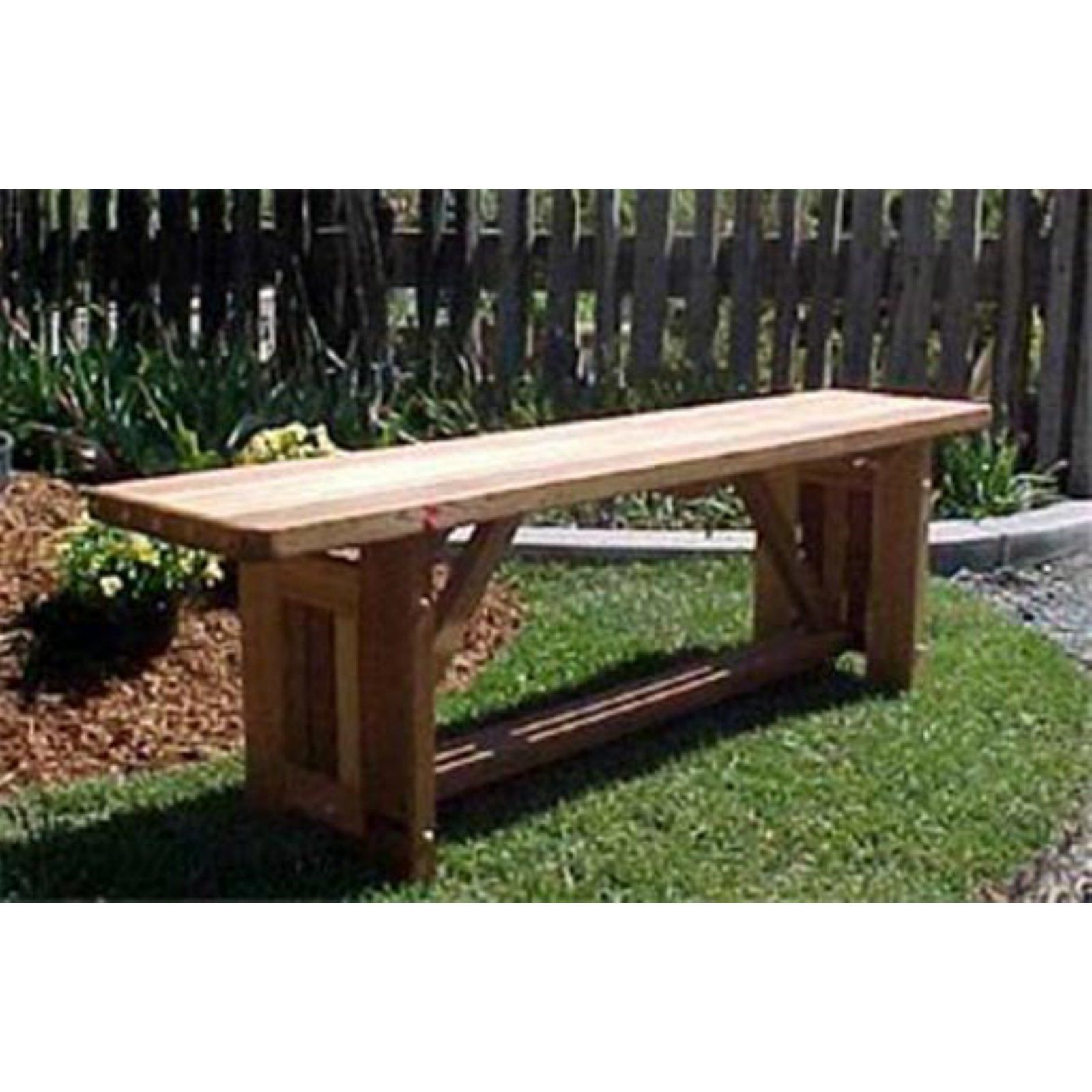 Peachy Outdoor Wood Country Cabbage Hill Backless Bench In 2019 Lamtechconsult Wood Chair Design Ideas Lamtechconsultcom